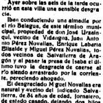 Recorte del Diario de Navarra de 21/03/1917