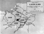 Plano cinturón de hierro de Bilbao