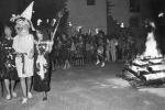 Bajada de la bruja 1988 (Foto: Diario de Navarra)